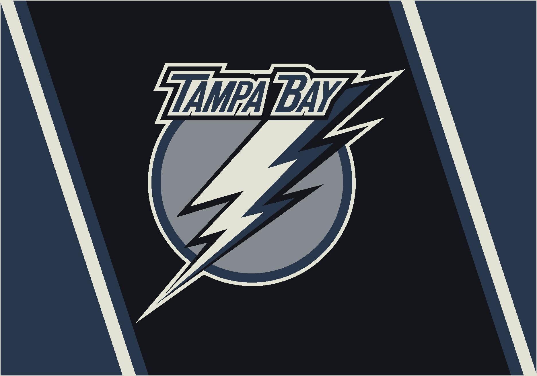 NHL Area Rug NHL Team: Tampa Bay Lightning