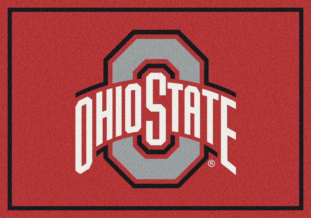Collegiate Ohio State University Buckeyes Doormat Mat Size: Rectangle 5'4