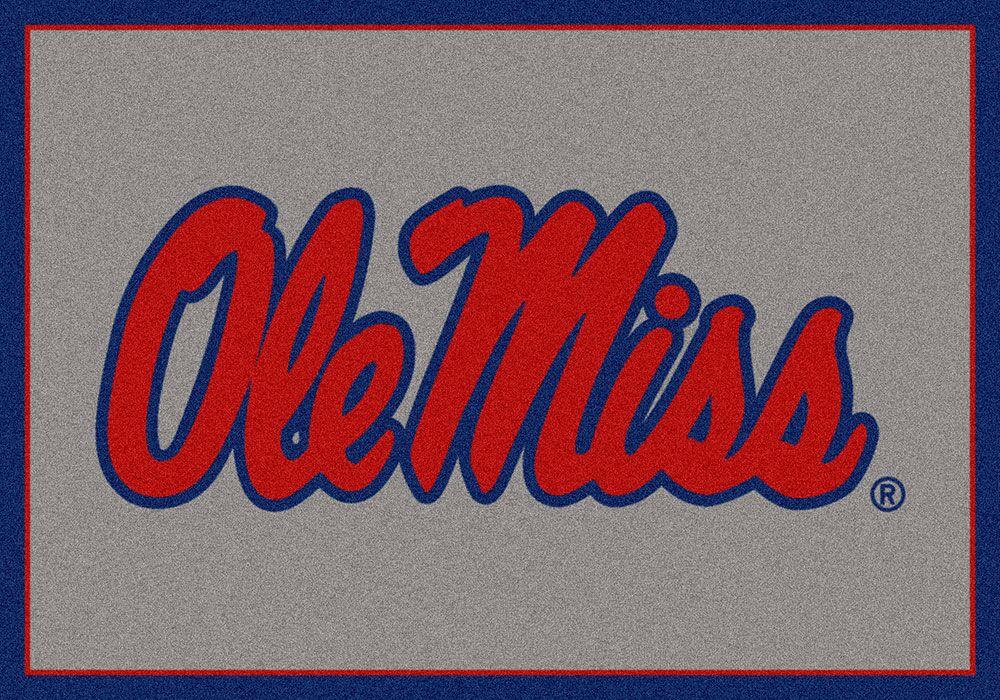 Collegiate University of Mississippi Rebels Doormat Mat Size: Rectangle 3'10