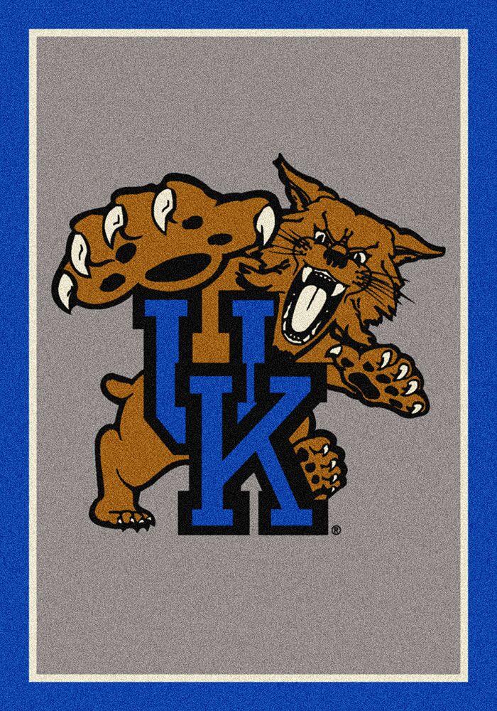 Collegiate University of Kentucky Wildcats Mat Mat Size: Rectangle 3'10