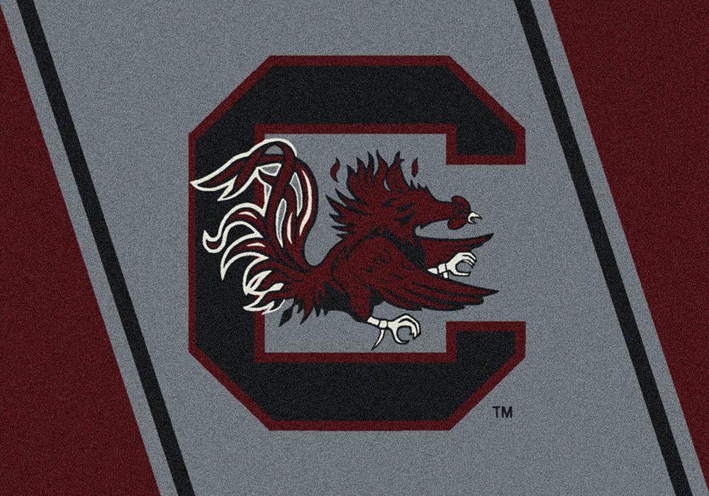 Collegiate University of South Carolina Gamecocks Doormat Mat Size: Rectangle 3'10