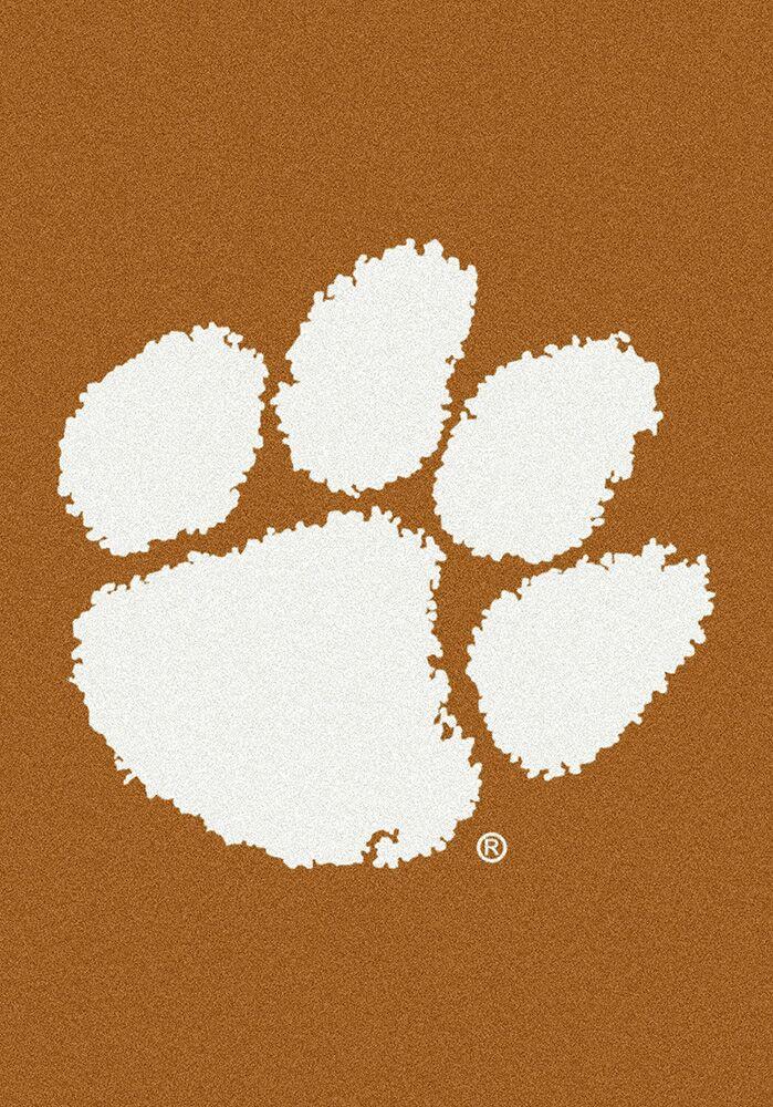 Collegiate Clemson Tigers Doormat Mat Size: Rectangle 5'4