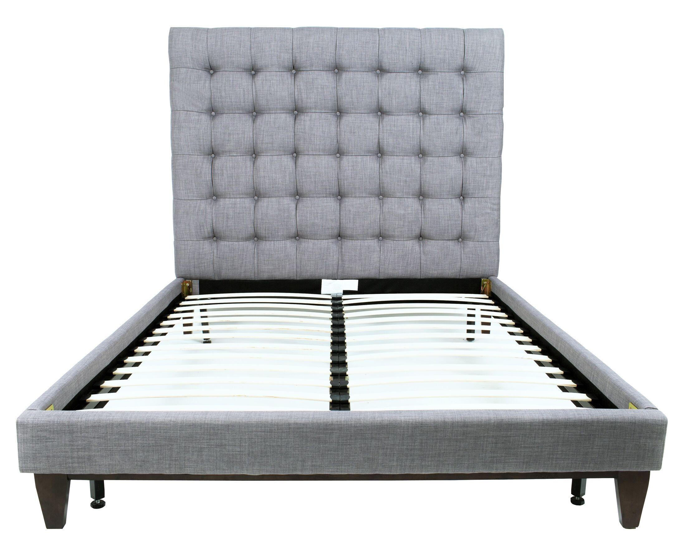 Mccann Linen Bed Frame