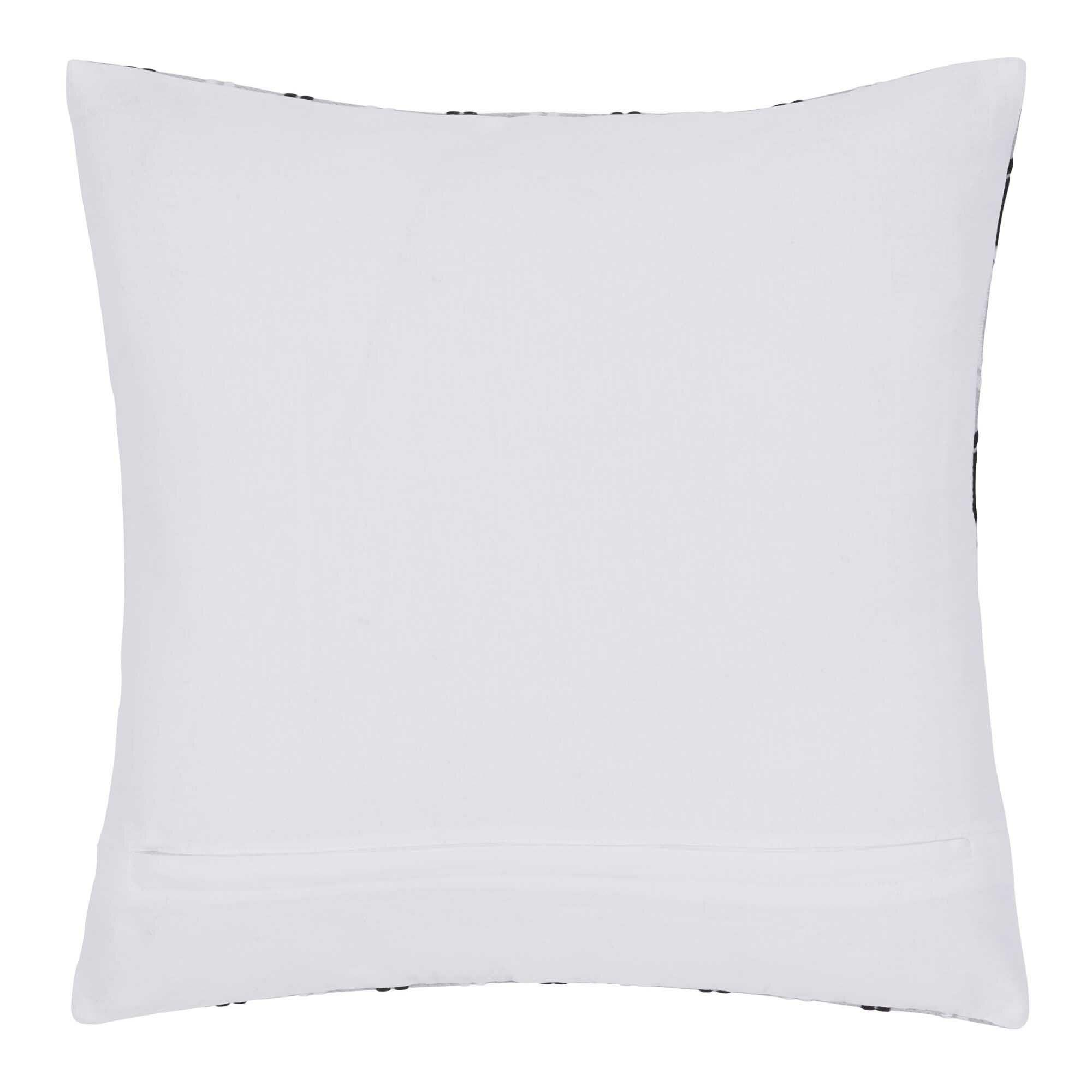 Hexagon Cotton Pillow Cover