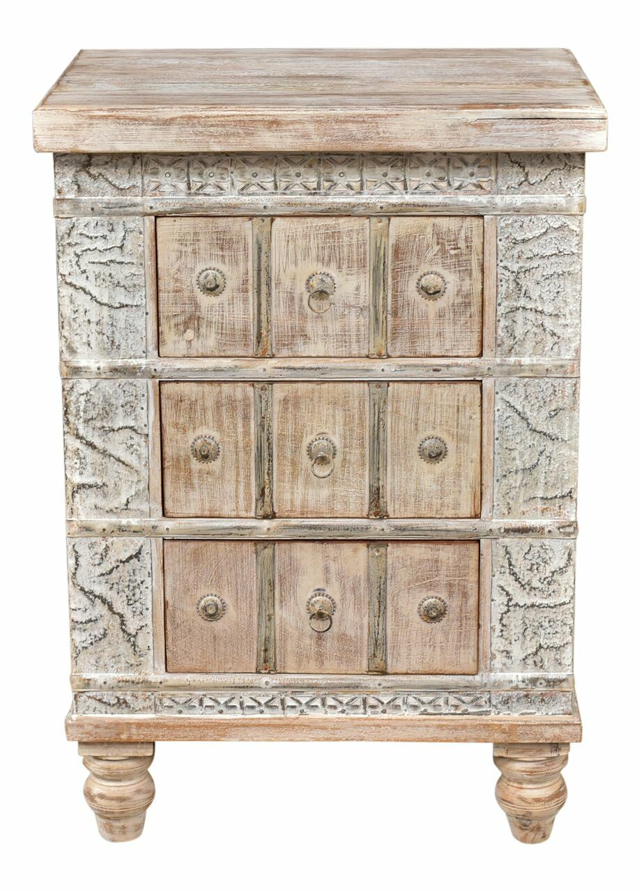 Timeless 3 Drawer Nightstand Finish: Lime