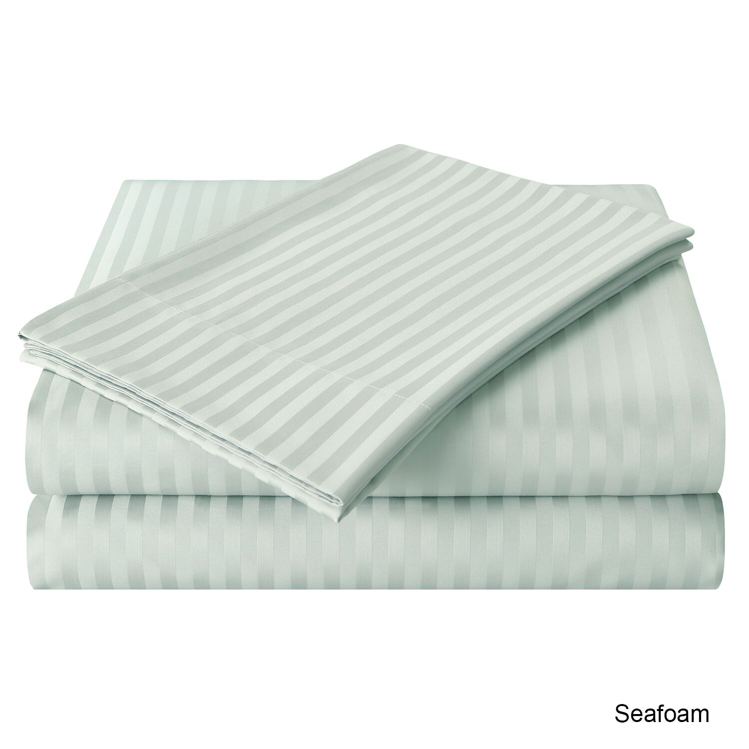 Milne 800 Thread Count 100% Cotton Sheet Set Size: Full, Color: Seafoam