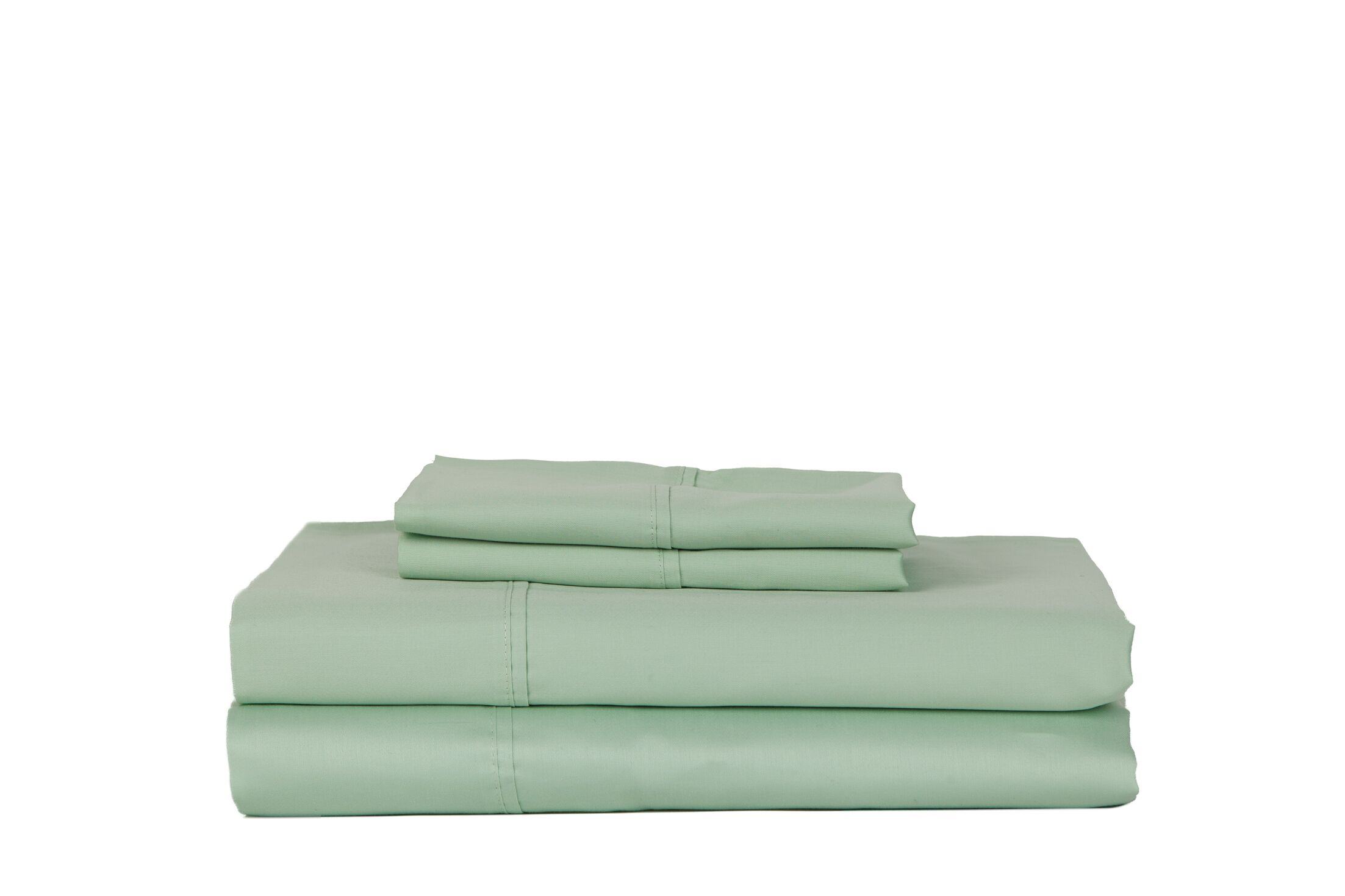 Hobbes 450 Thread Count Egyptian Quality Cotton Sheet Set Size: King, Color: Ocean Blue