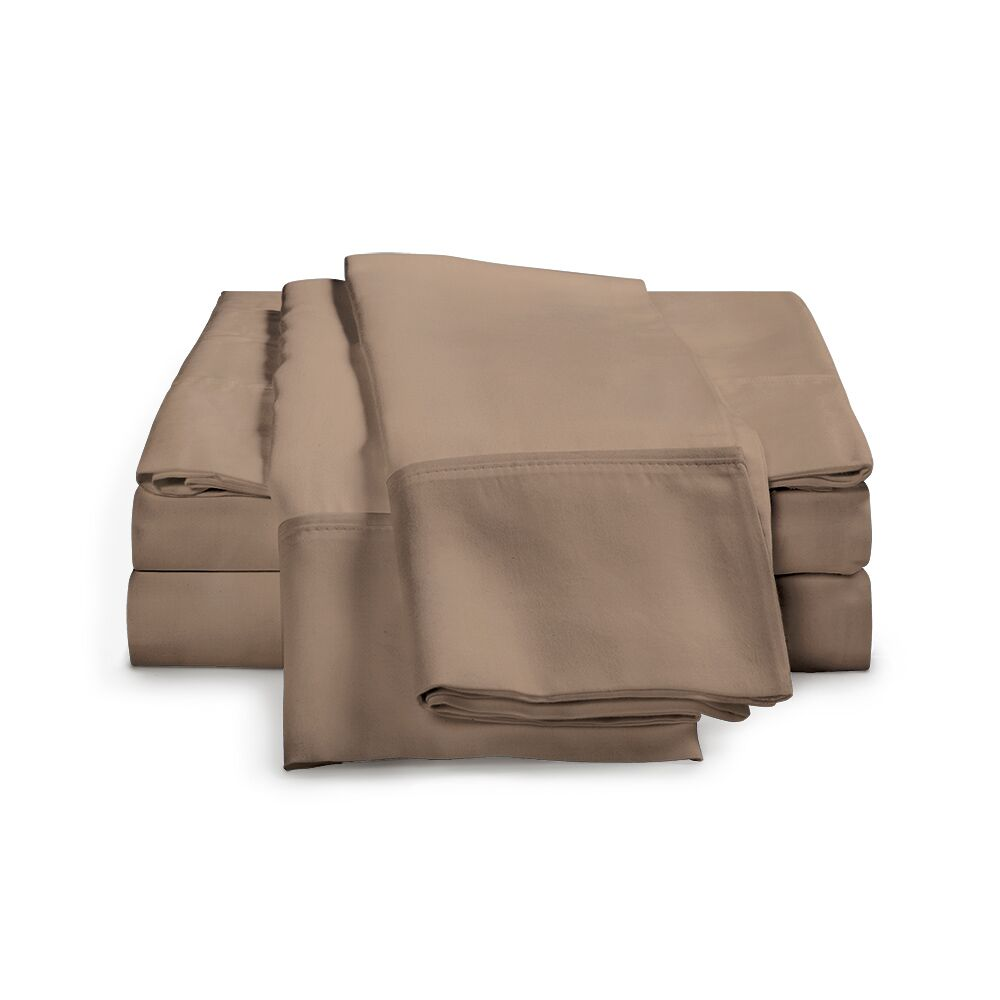Chaucer 1000 Thread Count Egyptian-Quality Cotton Sheet Set Size: King, Color: Taupe