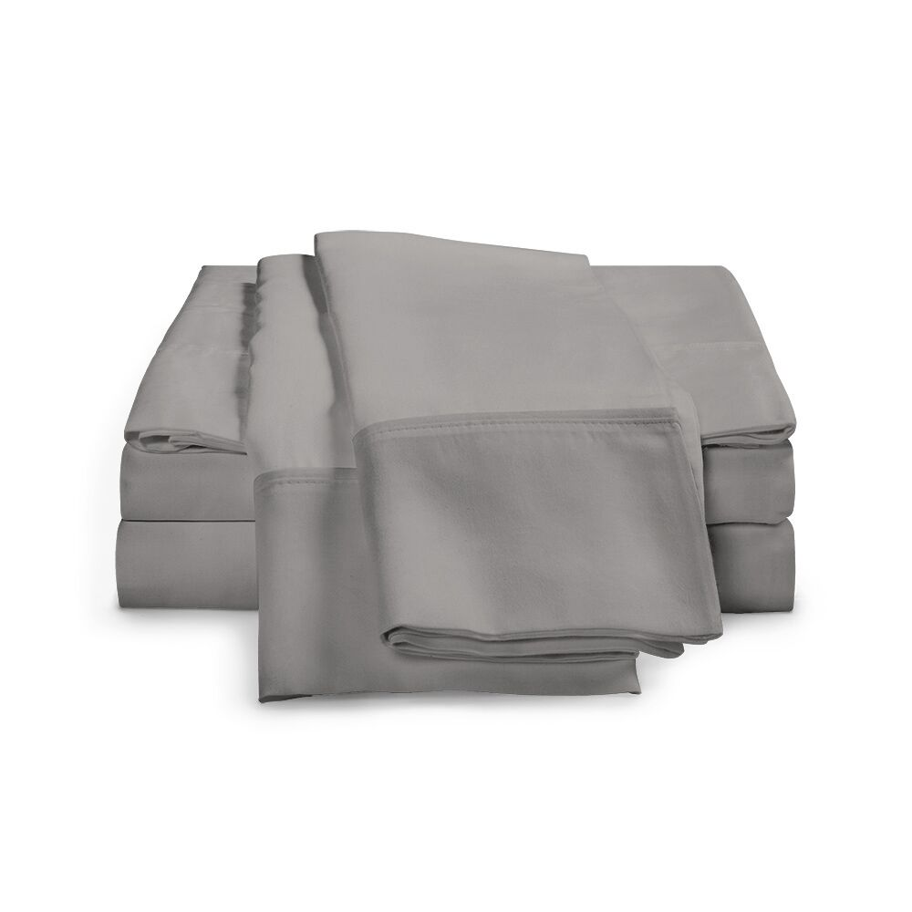 Chaucer 1000 Thread Count Egyptian-Quality Cotton Sheet Set Size: California King, Color: Grey