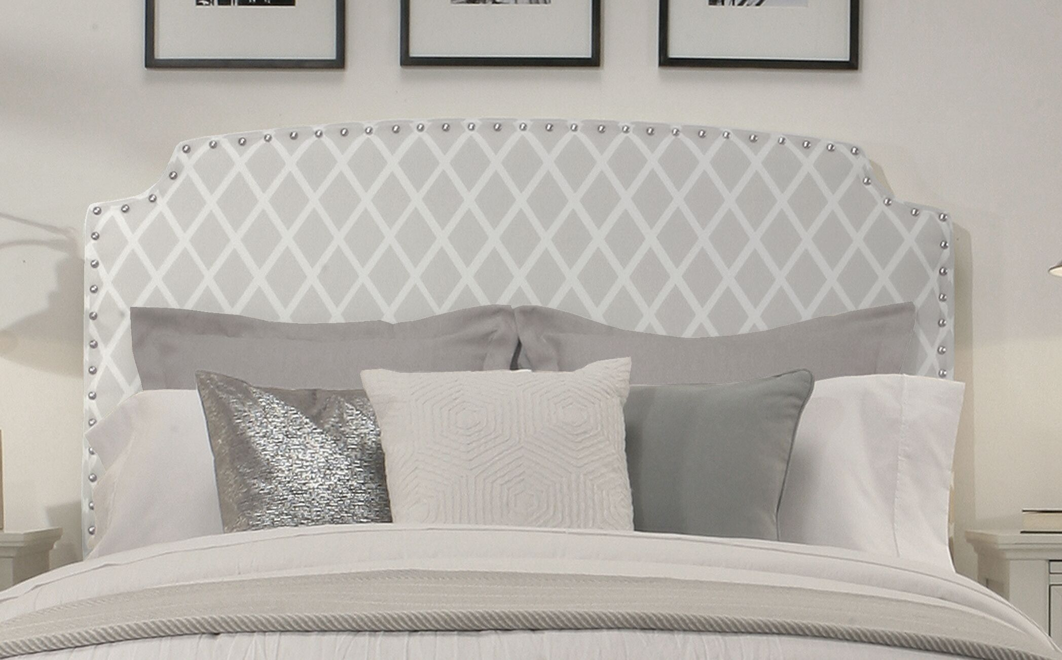 Ardenvor Upholstered Panel Headboard Size: Queen/Full