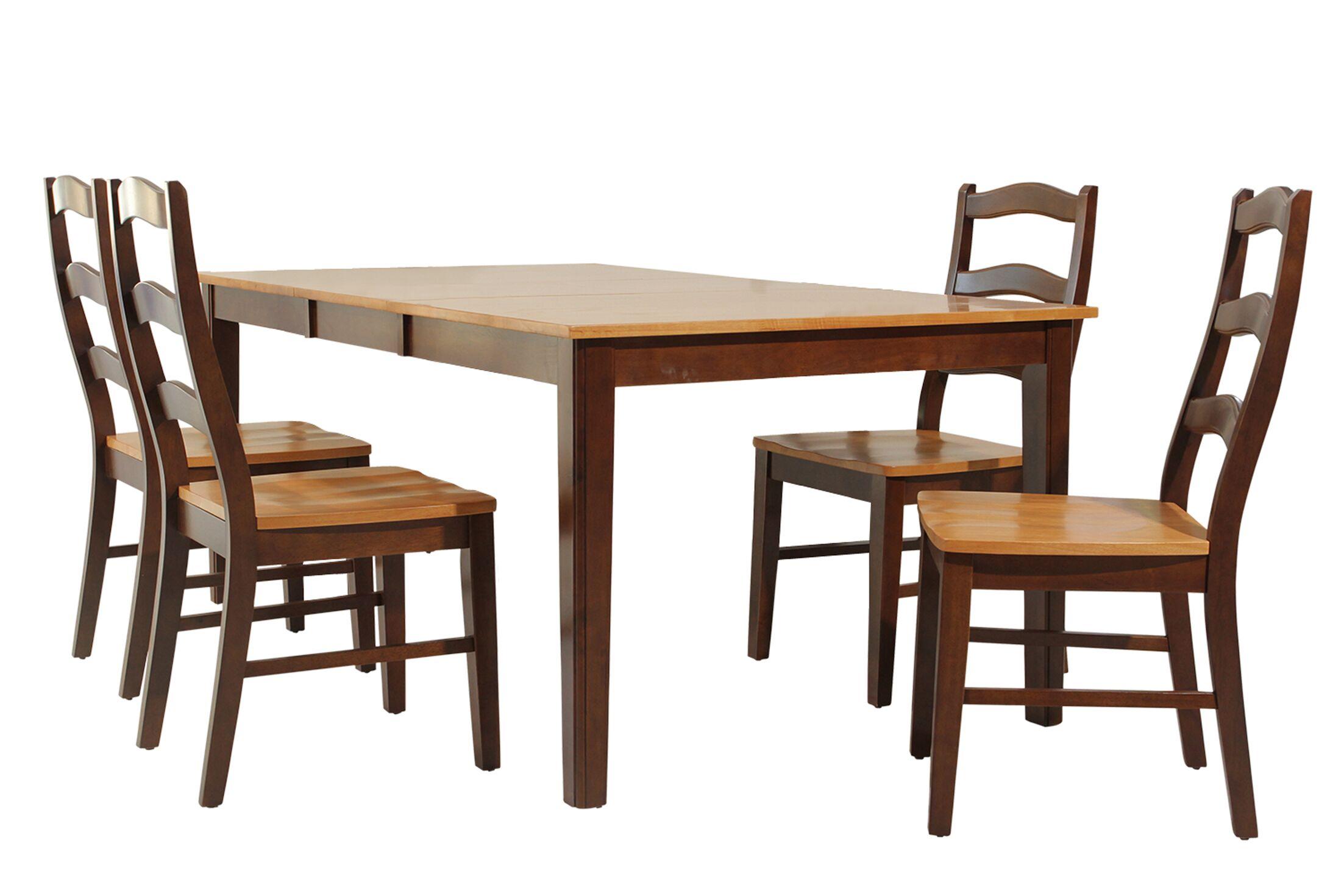 Stettler 5 Piece Dining Set