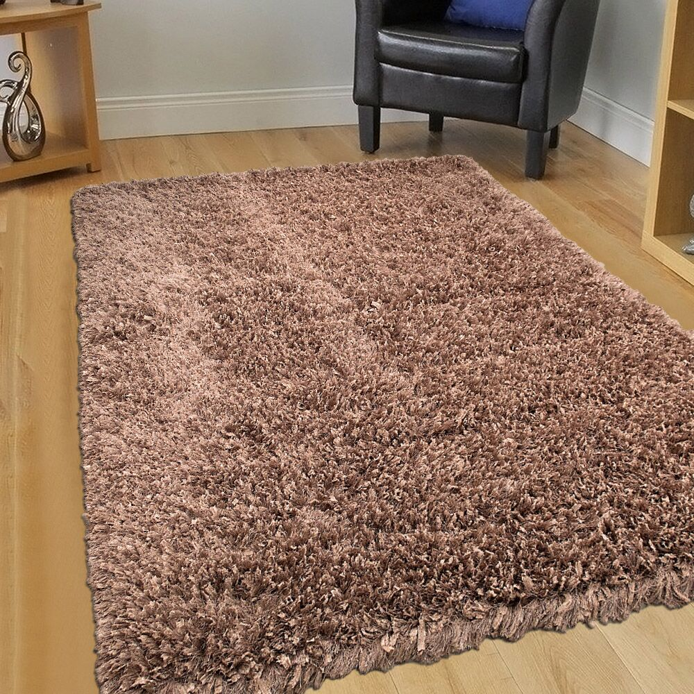 Handmade Brown Area Rug Rug Size: 7' x 10'2