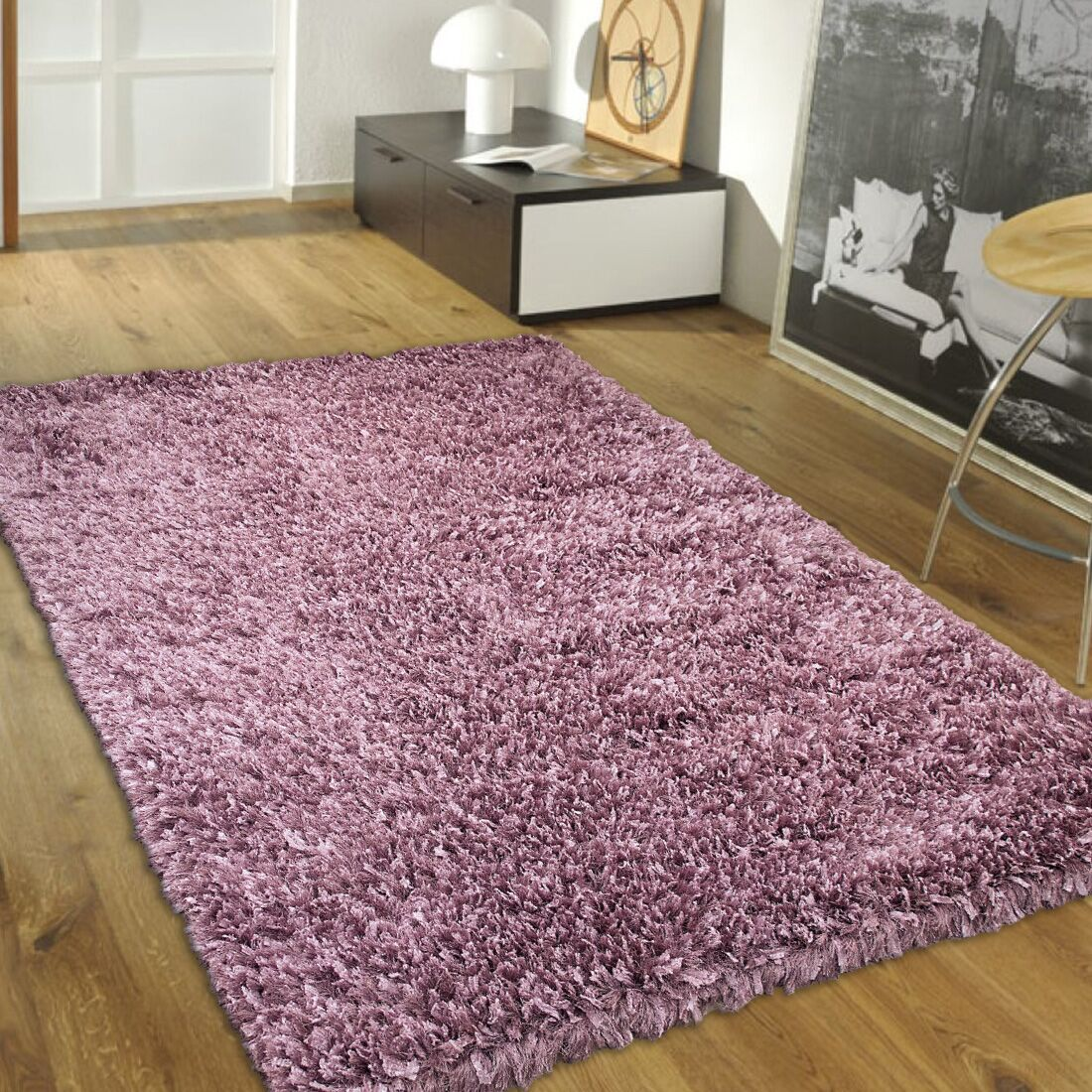 Handmade Purple Area Rug Rug Size: 7' x 10'2