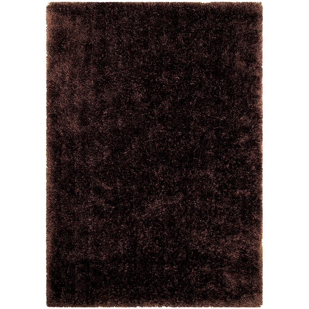 Dark Brown Area Rug Rug Size: Rectangle 7'7