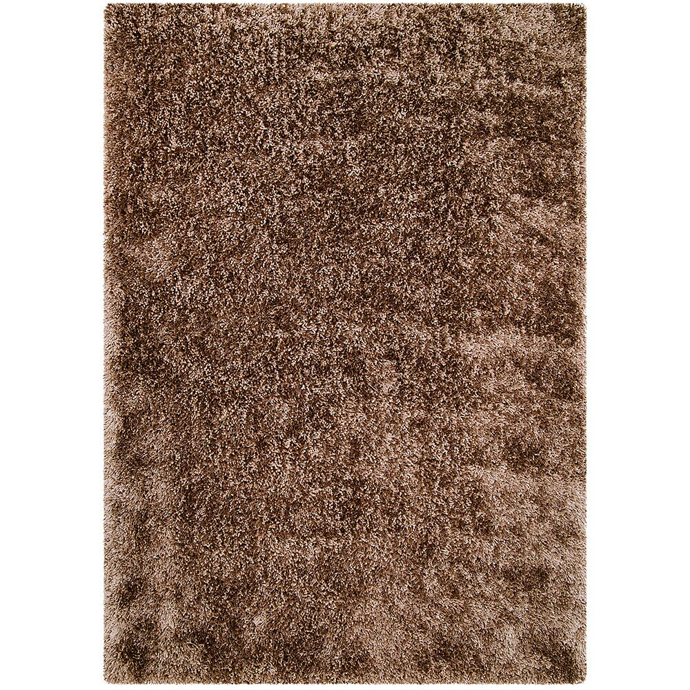 Brown Area Rug Rug Size: Rectangle 3'8