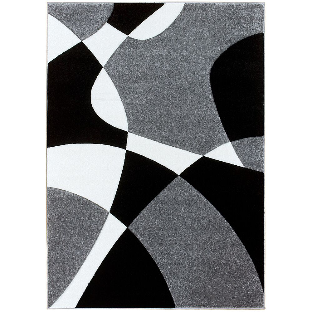 Gray Area Rug Rug Size: Rectangle 7'9