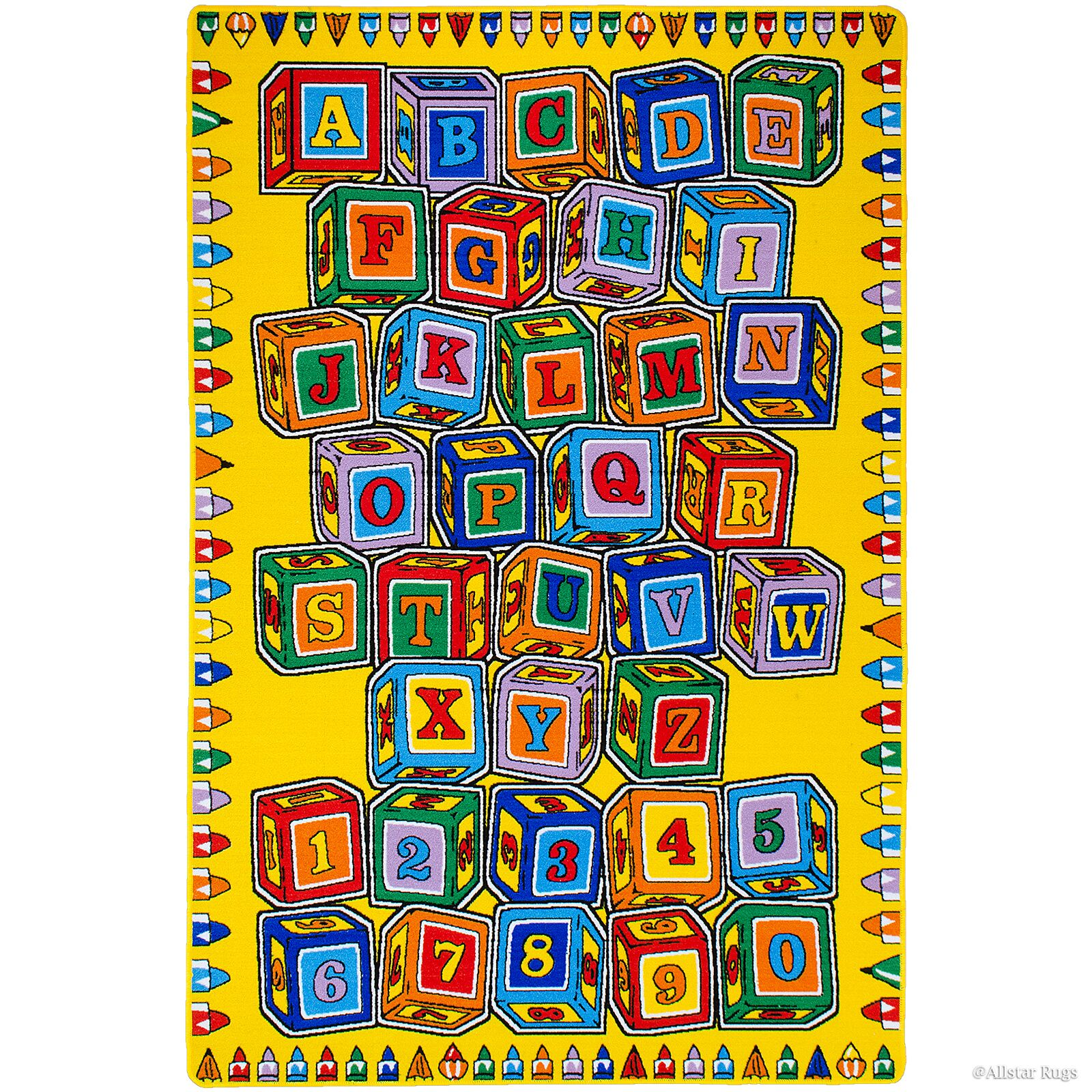Hand-Tufted Area Rug Rug Size: 7'3