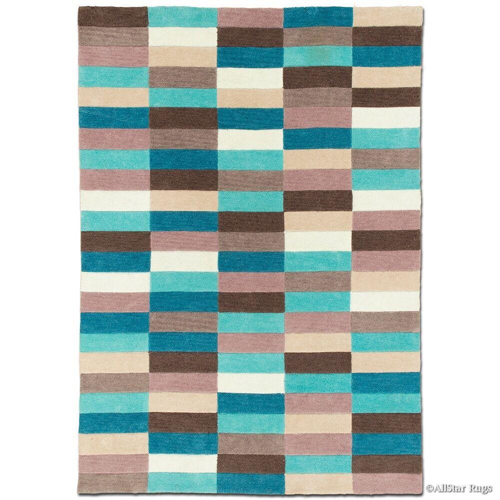 Handmade Blue Area Rug Rug Size: 7' x 10'2