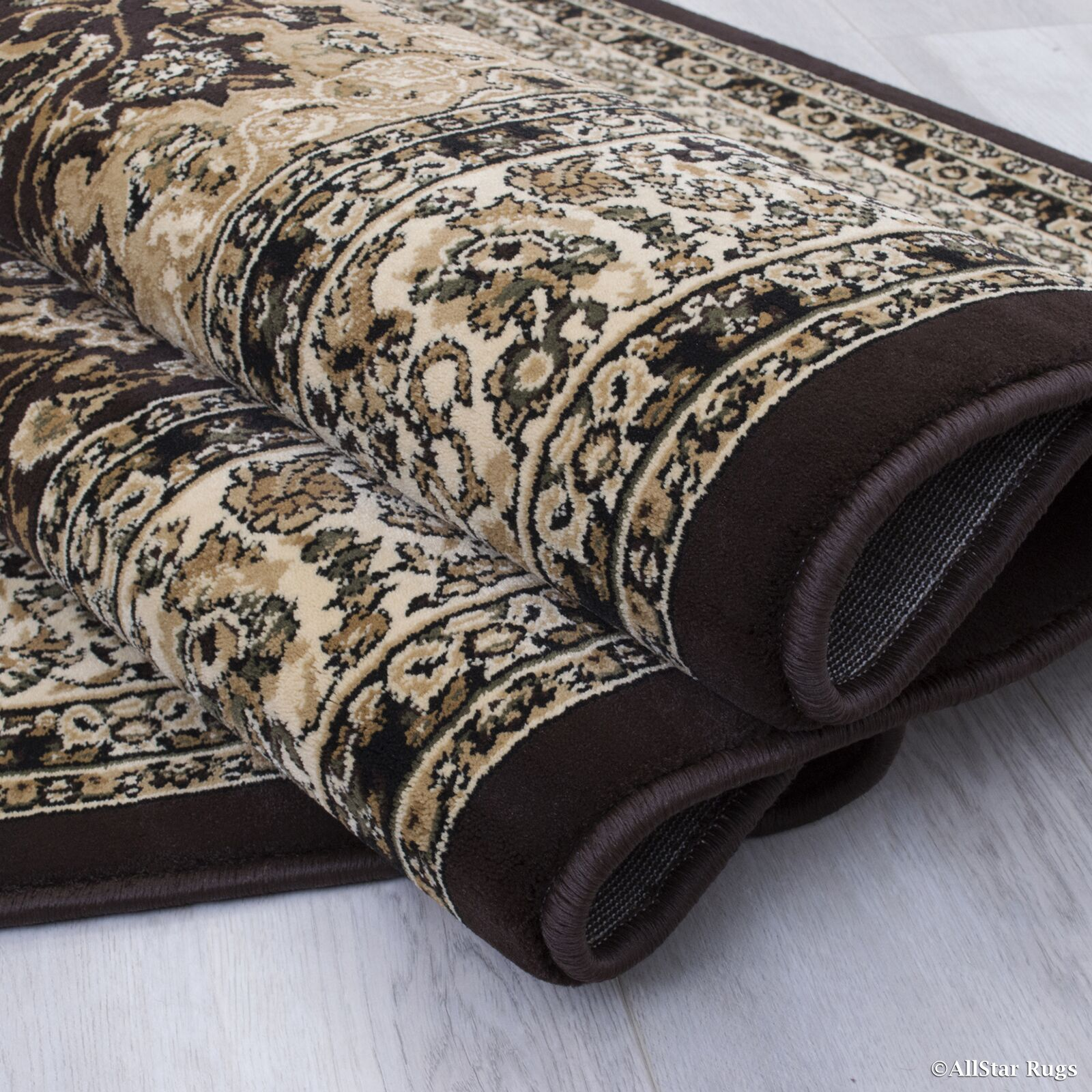 Arison High-End Ultra-Dense Thick Woven Chocolate Area Rug Rug Size: 6'7
