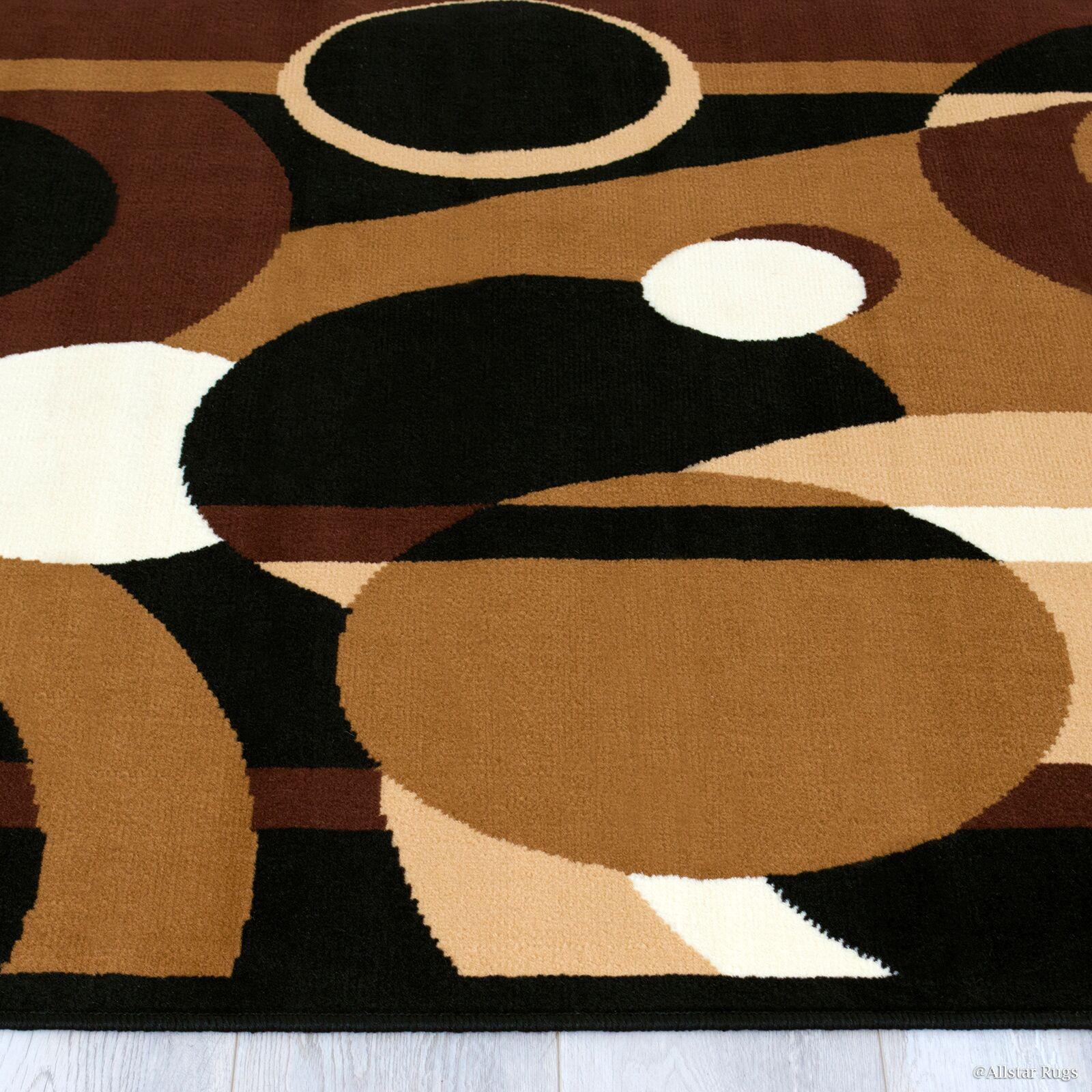 Buser Brown Indoor Area Rug Rug Size: 7'7