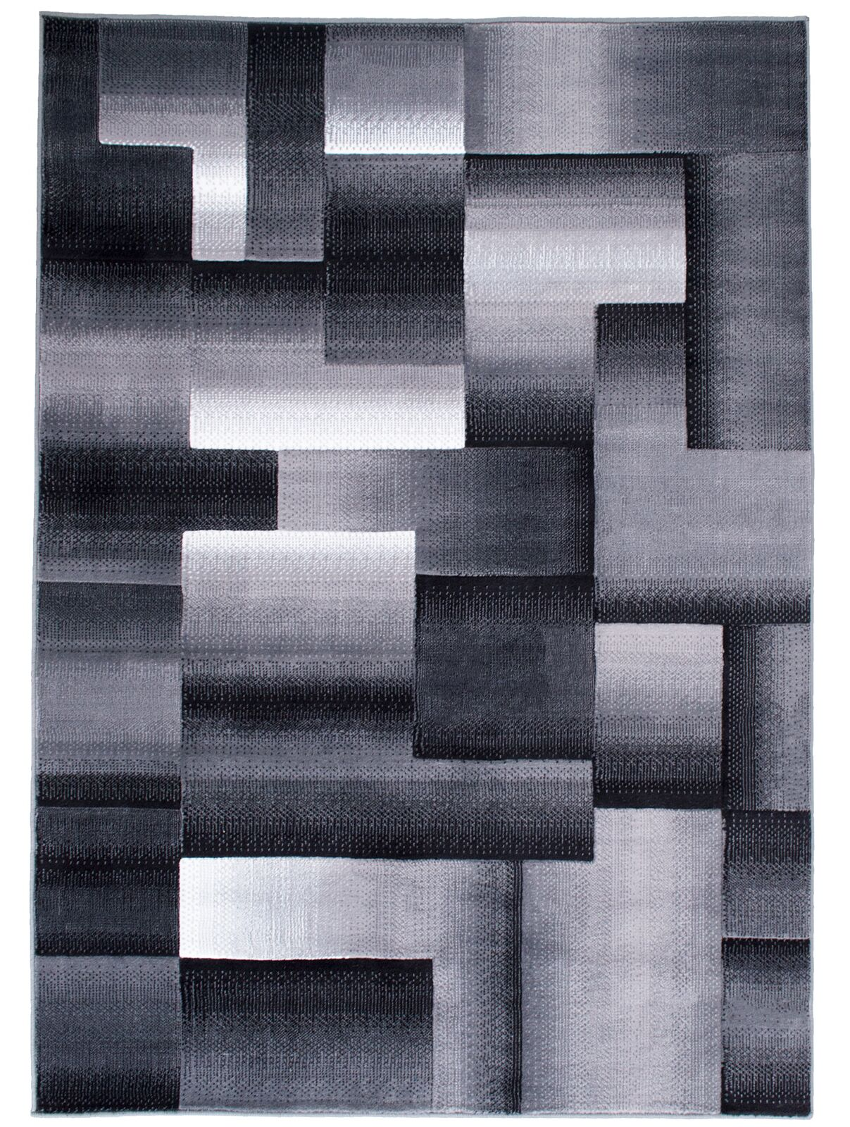 Hutchinson High Quality Exclusive Drop-Stitch Ombre Brick Designed Shadow Area Rug Rug Size: 7'10