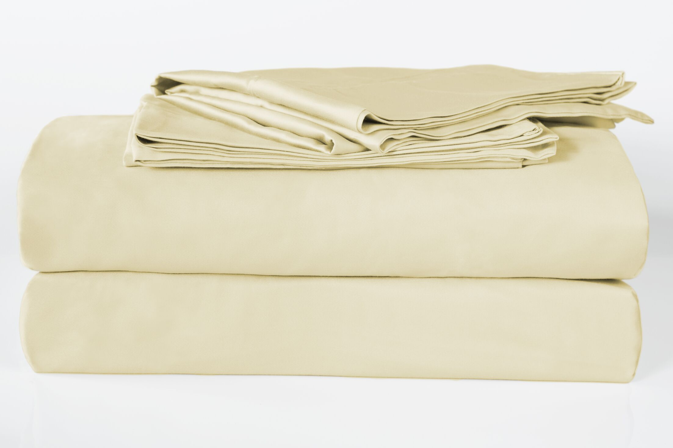 Banyan 325 Thread Count 100% Organic Cotton Sheet Set Color: Latte, Size: King
