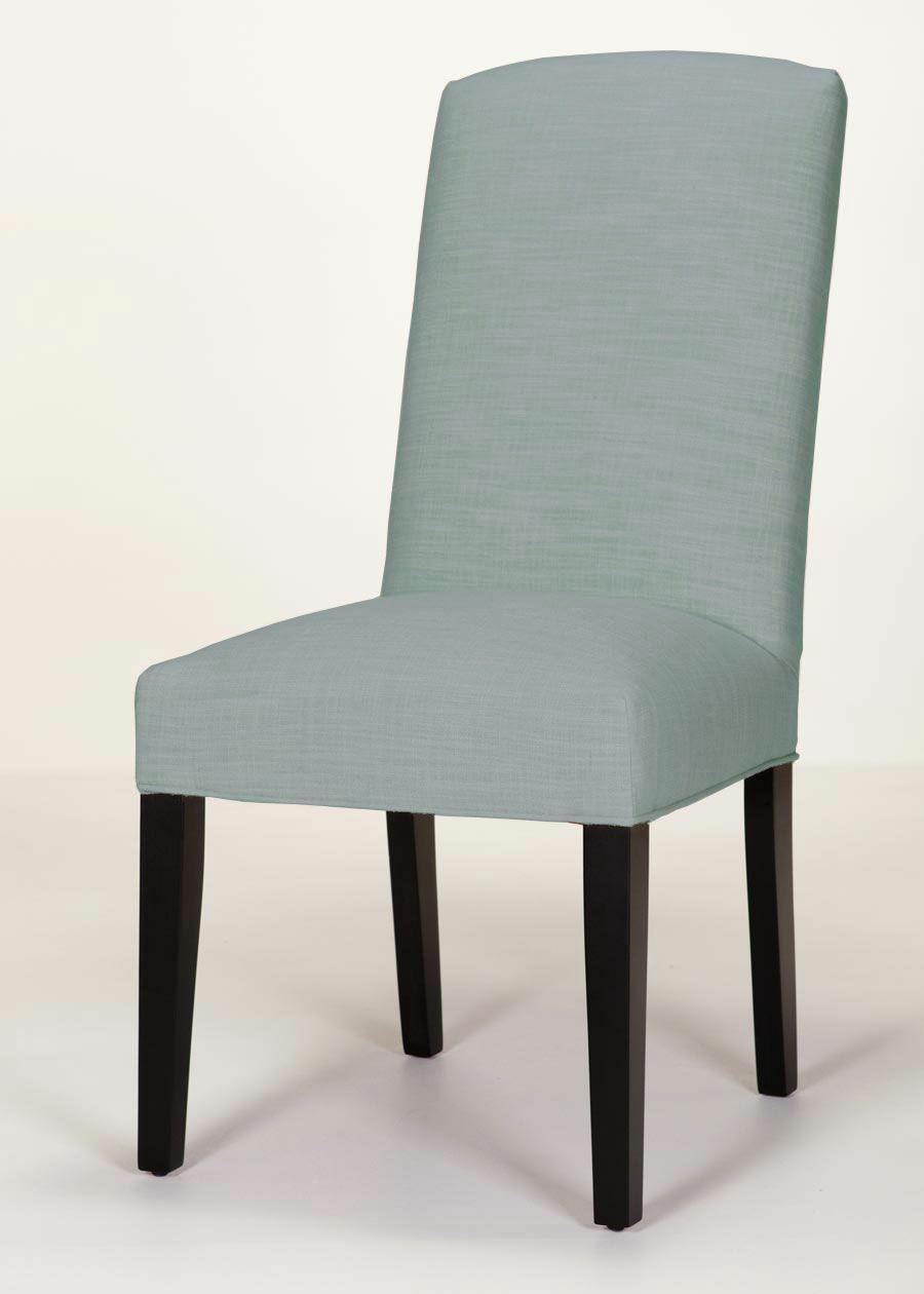 Asbury Upholstered Dining Chair Upholstery Color: Orange, Leg Color: Matte Black
