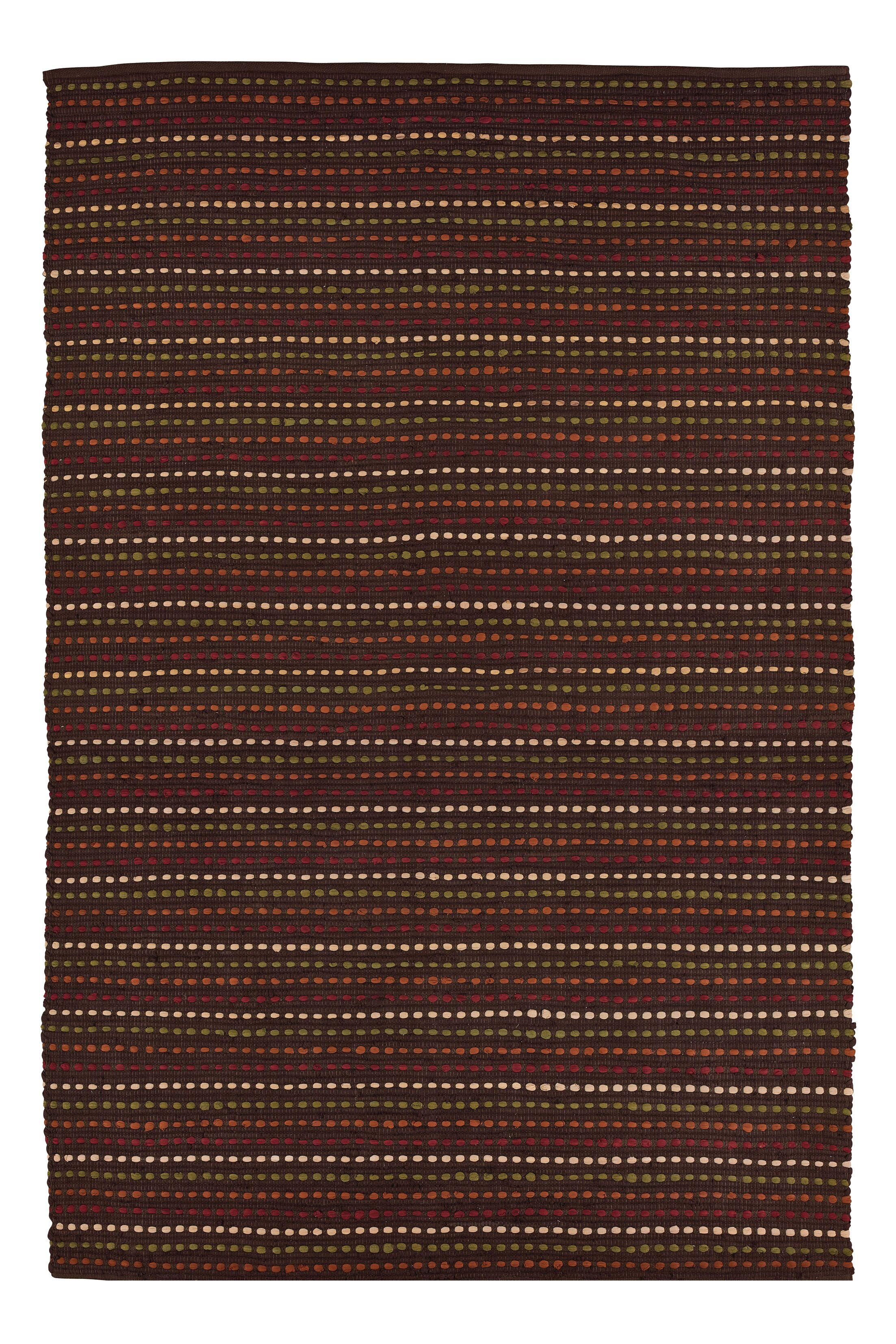 Rag Hayden Hand-Woven Burgundy Area Rug