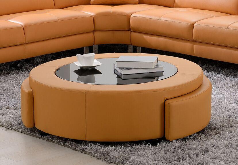 Coffee Table Color: Orange