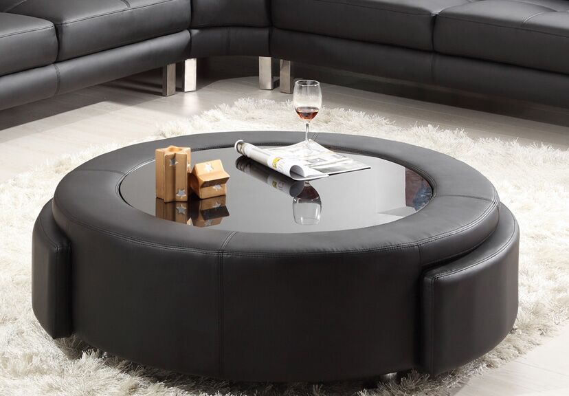 Coffee Table Color: Black