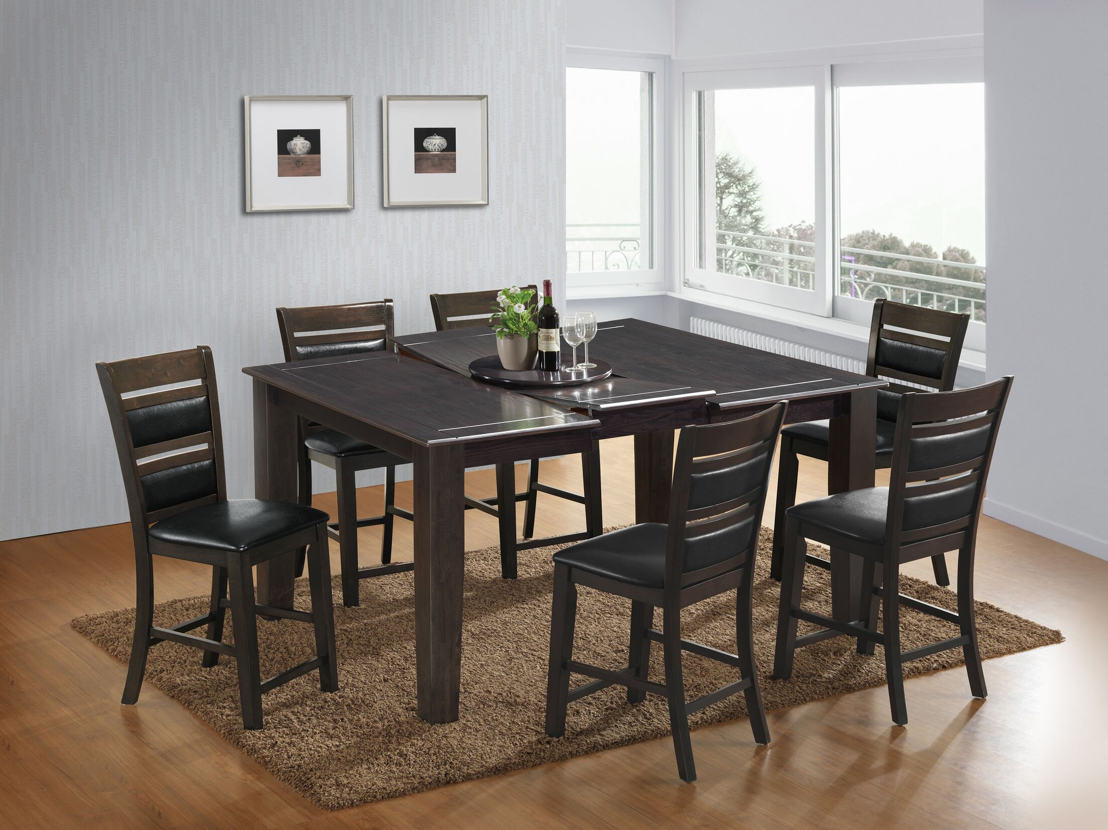 Dining Table Sets 7 Piece Counter Height Dining Set