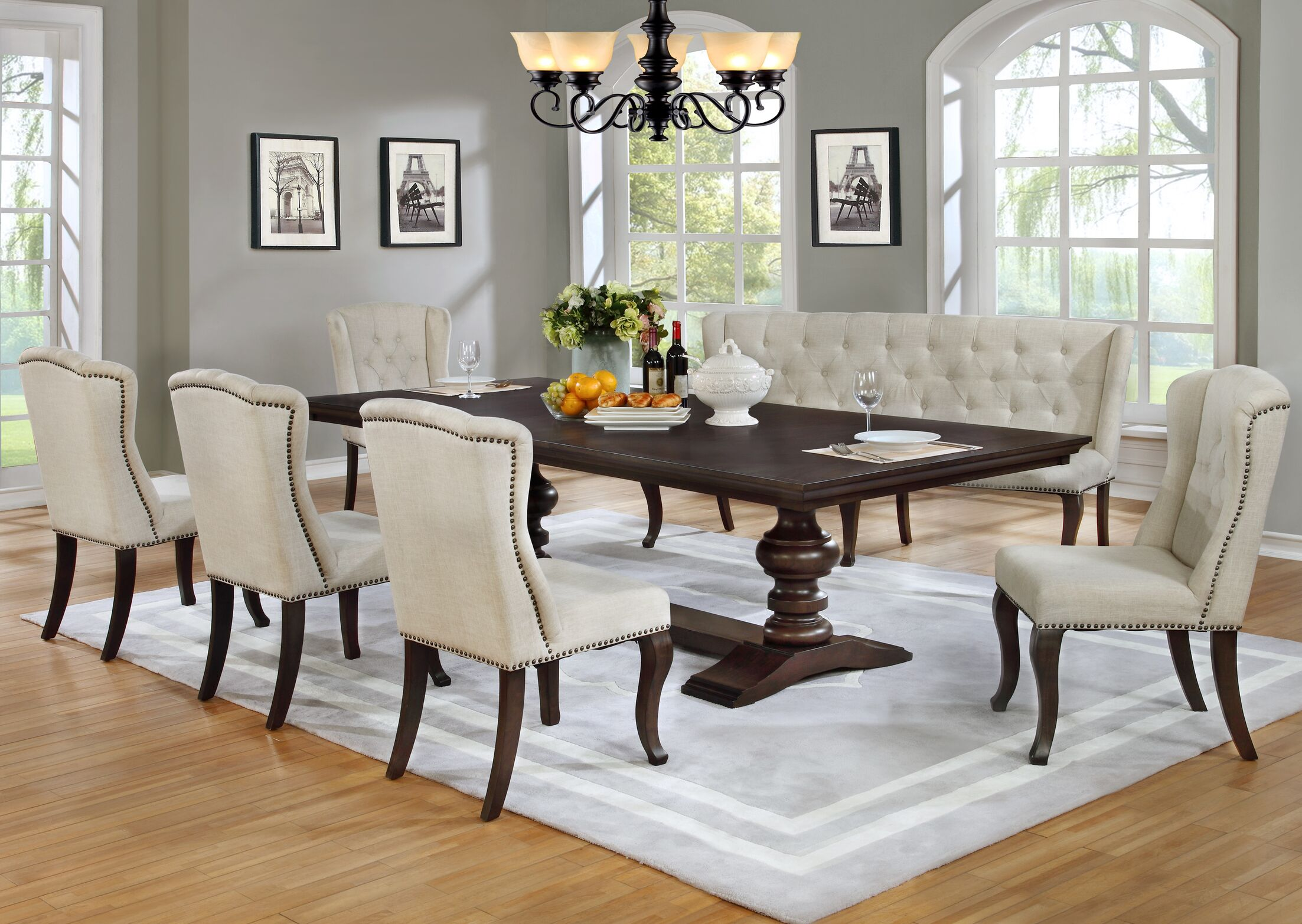 Dining Table Sets Kirt 7 Piece Dining Set