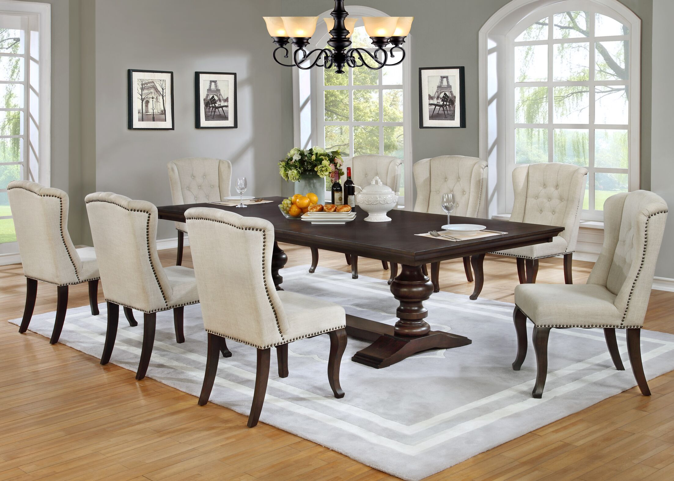 Dining Table Sets Rolf 9 Piece Dining Set