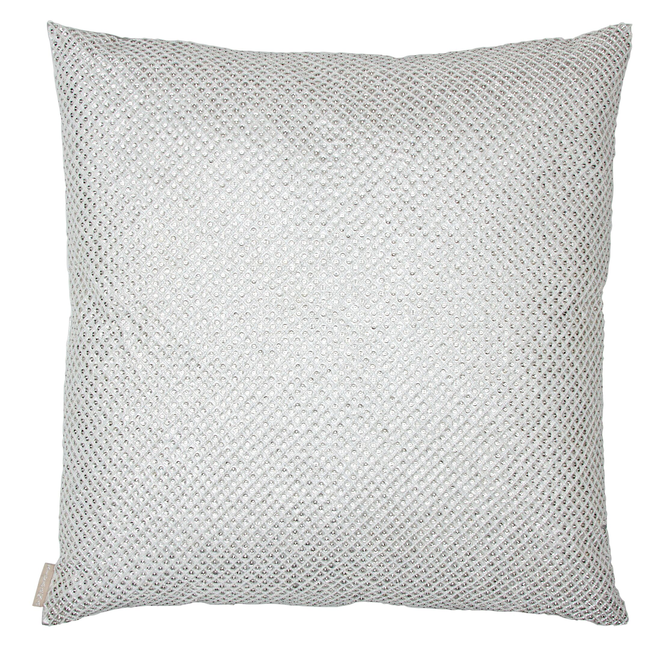 Bridal Shimmer Throw Pillow Size: 26