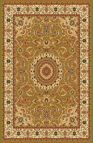 Brown Area Rug Rug Size: Rectangle 6'6