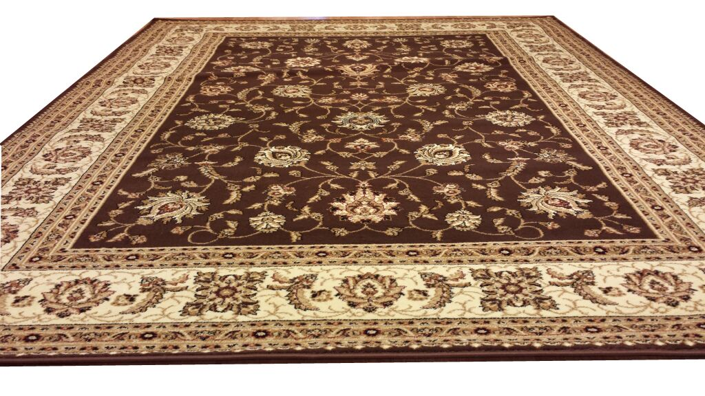 Brown Area Rug Rug Size: Rectangle 5'3