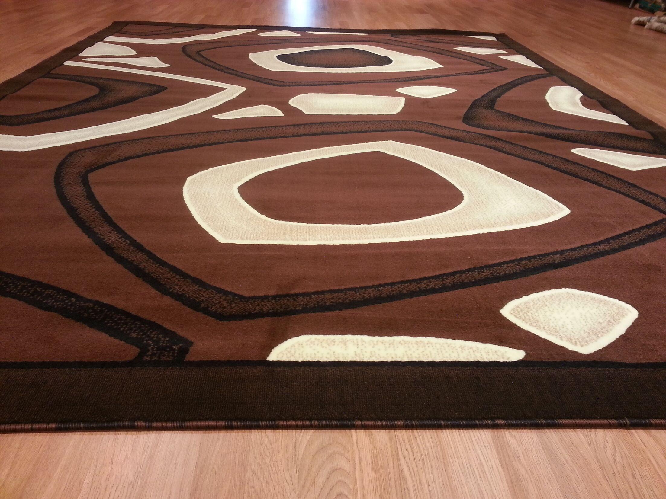 Hand-Carved Brown Area Rug Rug Size: Runner 2'7
