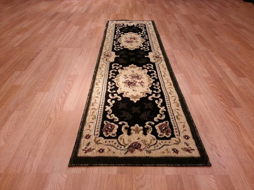Hand-Carved Red/Beige Area Rug Rug Size: Runner 2' x 7'2