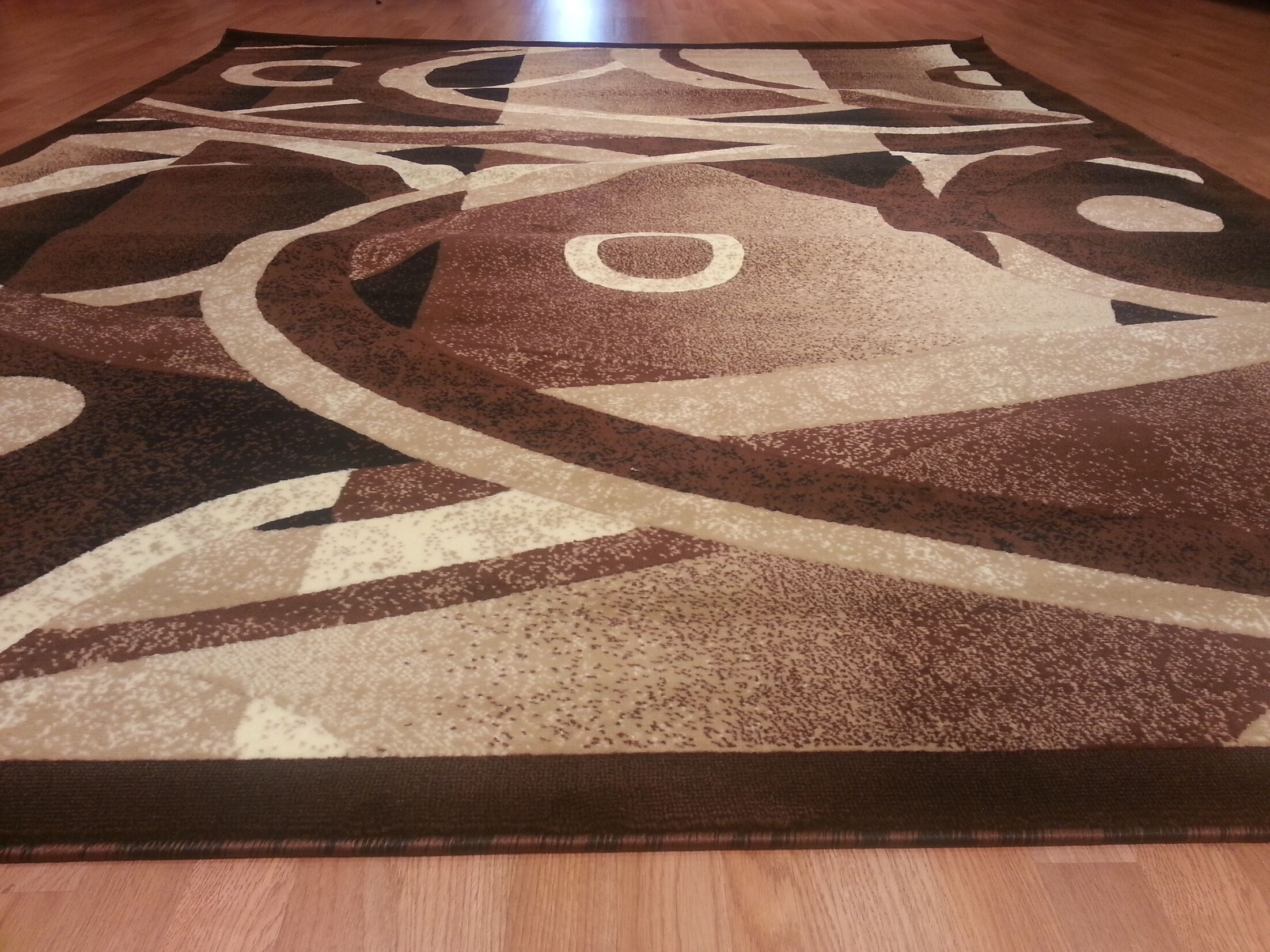 Hand-Carved Brown Area Rug Rug Size: Runner 2'7