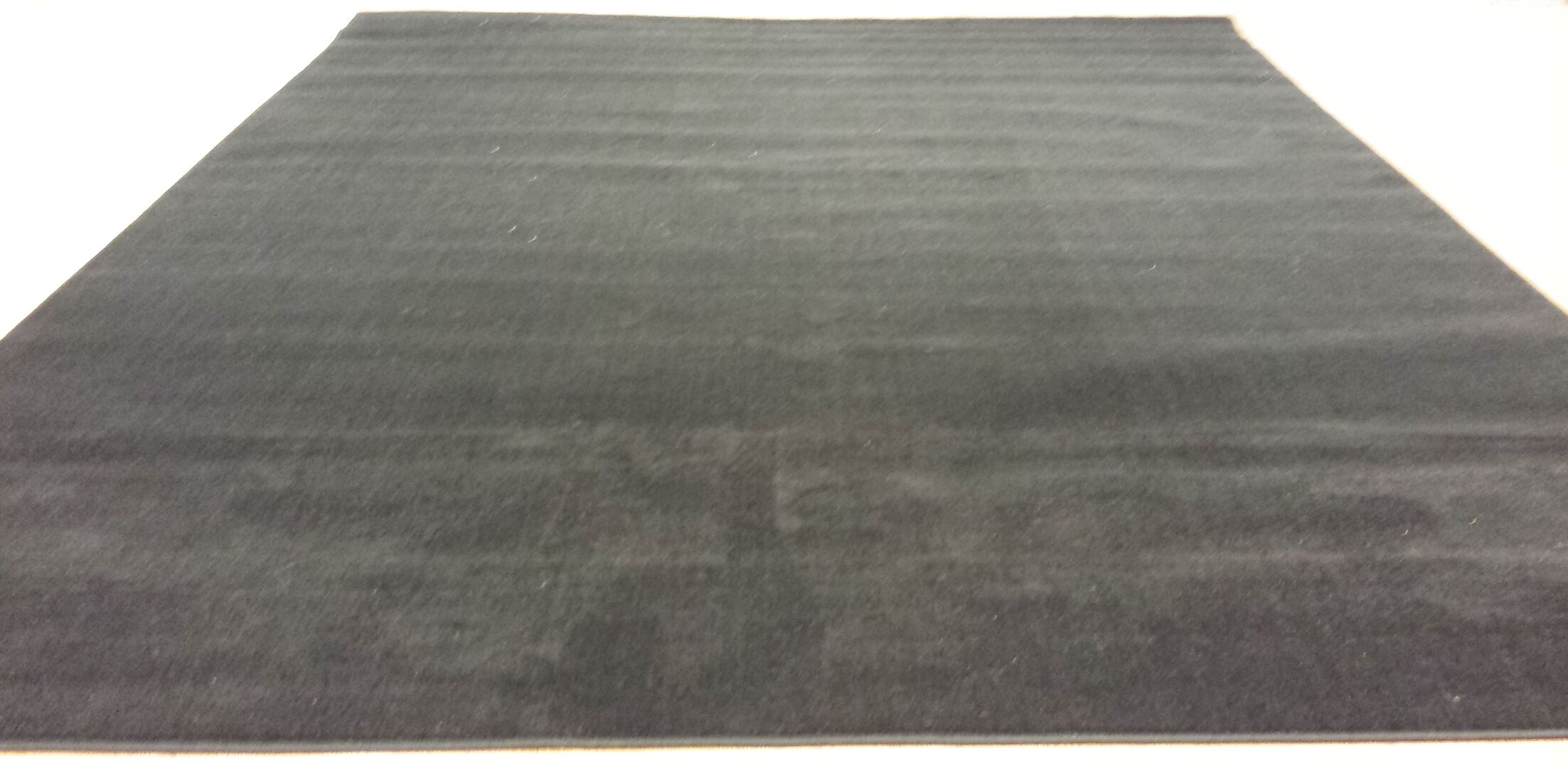 Hand-Carved Black Area Rug Rug Size: Rectangle 10' x 13'