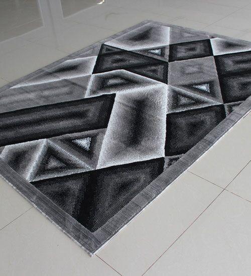 Gray Area Rug Rug Size: 4' x 6'