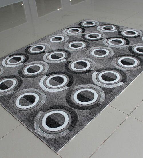 Gray Area Rug Rug Size: Runner 2' x 7'2