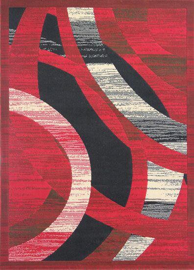 Barnsley Red Area Rug