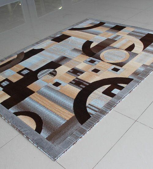 Blue Area Rug Rug Size: 5'3