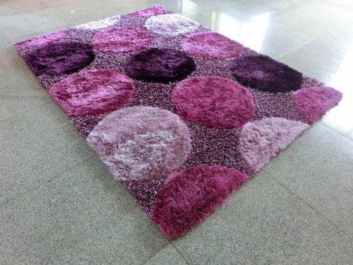 Purple Area Rug Rug Size: 7'11