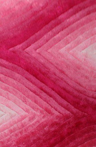 Prieto Pink Area Rug Rug Size: 5'3