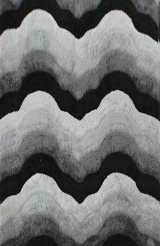 Dokkum Gray Area Rug Rug Size: 7'11