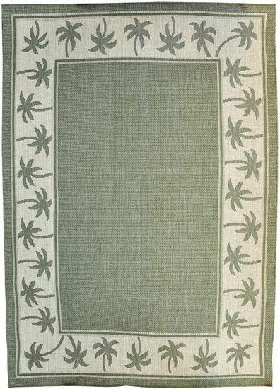 Green Area Rug Rug Size: 7'11