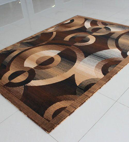 Brown Area Rug Rug Size: Rectangle 7'11