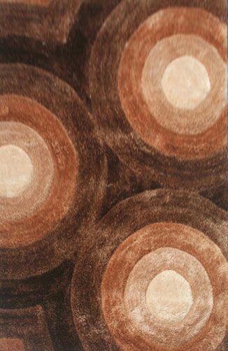 Principato Brown Area Rug Rug Size: 3' x 5'